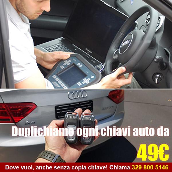 Duplica la tua chiave auto a Roma
