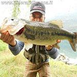 Lago di Mergozzo - Black bass con spinner bait