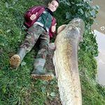 220cm 80kg per questo siluro nel canale Battaglia