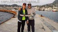Barracuda di 1.6kg preso con un Maver Skirt affondante