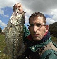 Big bass sul lago di Santa Rosalia