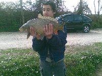 Carpa di 3.5kg al lago Le Palme