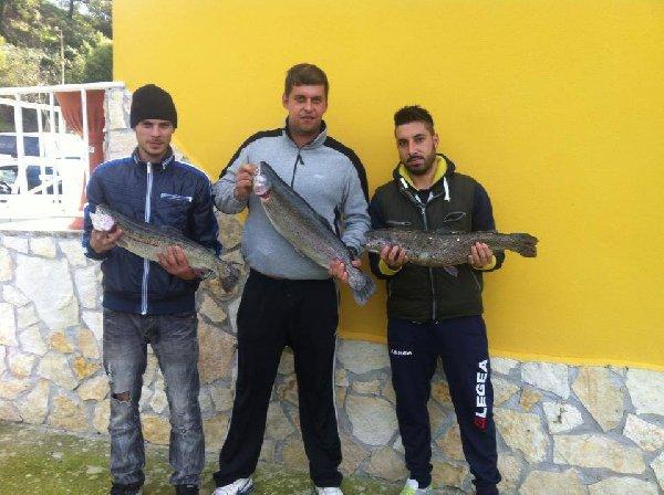 Laghi 4 valli  -Tris di big trout