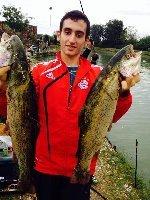 Lago le Palme Roma  - Due Big Trout