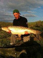 Lago San Costanzo - Big amur con mais popup