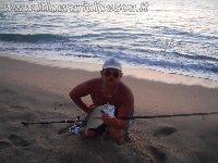 Orata di 1.055 kg con il granchio a Vibo Marina