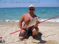 Orata di 1.2 kg a BeachLedgering a Vibo Marina