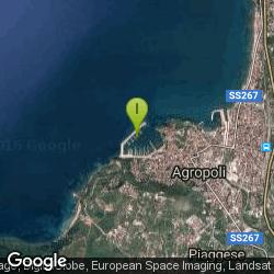 Lo spot di pesca di Coppia di spigole pescate al porto di Agropoli a bolognese