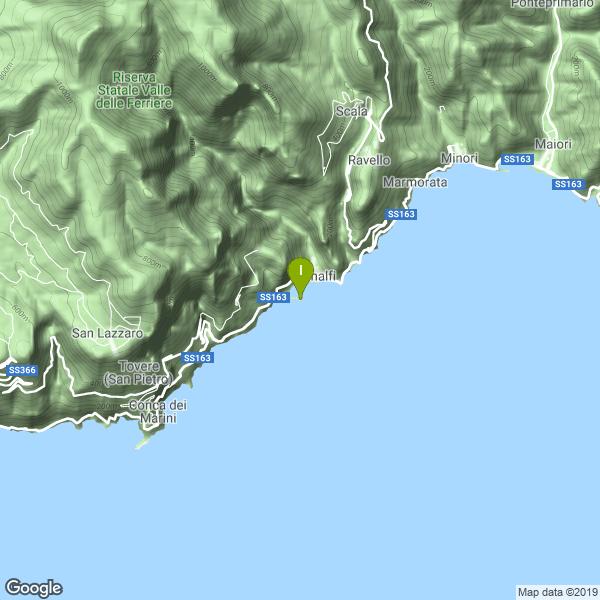 Il luogo di pesca. Lat: 40.630945 Long: 14.599881