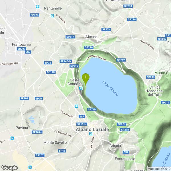 Il luogo di pesca. Lat: 41.748103 Long: 12.654920