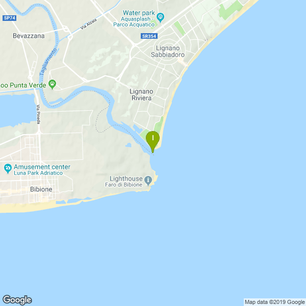 Le coordinate di questa zona di pesca. Lat: 45.644708 Long: 13.099051