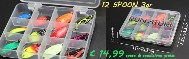 Acquista su Amazon questo spoon per la trout area